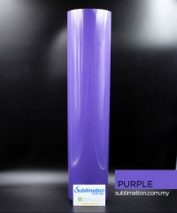 Purple PU Vinyl Transfer Film