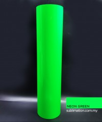 Neon Green PU Vinyl Transfer Film