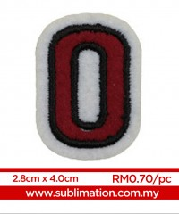 010 Embroidery Sticker