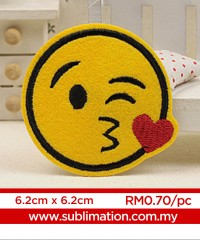 013 Embroidery Sticker