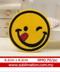 014 Embroidery Sticker
