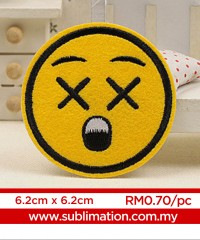 016 Embroidery Sticker