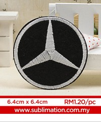 028 Embroidery Sticker