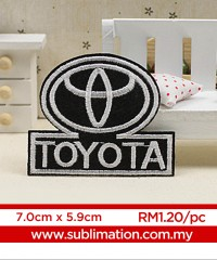029 Embroidery Sticker