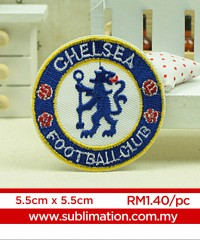039 Embroidery Sticker