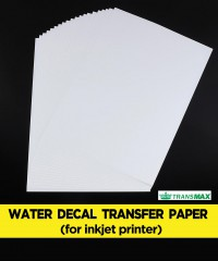 Water Decal Transfer Paper