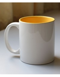 11oz Inner Yellow Mug