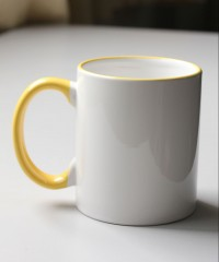 11oz Outer Yellow Mug