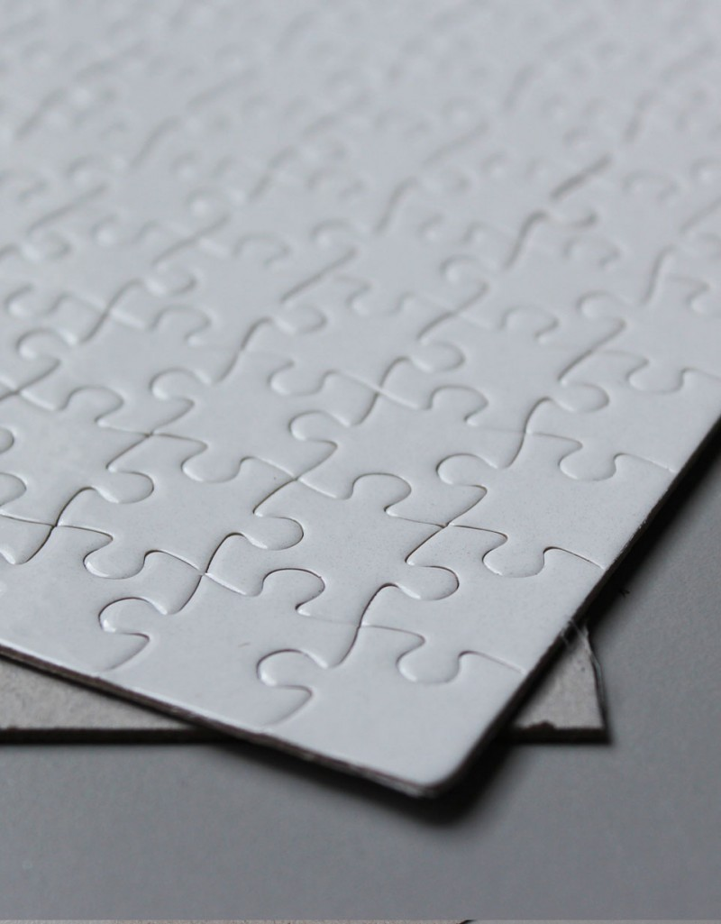 a5 sublimation blank puzzle